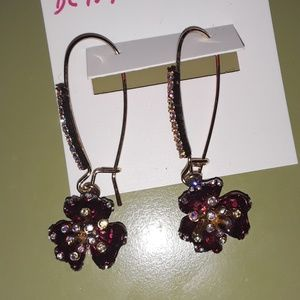 Betsey Johnson SURREAL FOREST EARRINGS